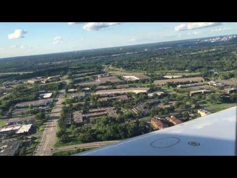 Landing at Minneapolis – Saint Paul International Airport