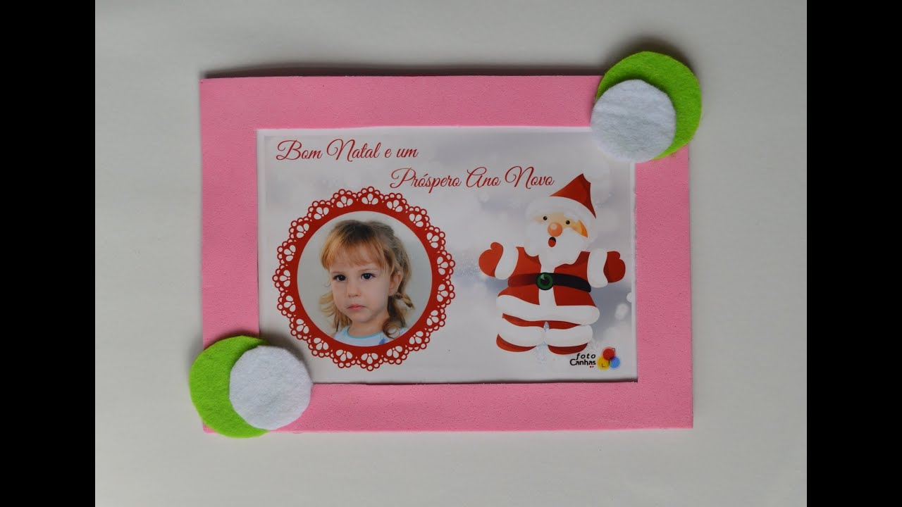 Como hacer un porta retrato iman para la nevera - How to make a ...