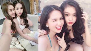 Linh Chi khoe ảnh hiếm của Ngọc Trinh nhưng bị đàn chị đối xử thế này - Tin Tức Sao Việt