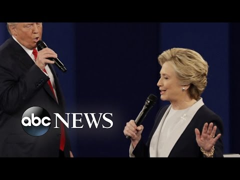 Hillary Clinton Confronted With Allegations Against President Bill Clinton