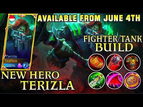Terizla Best Build Gameplay - Mobile Legends Bang Bang