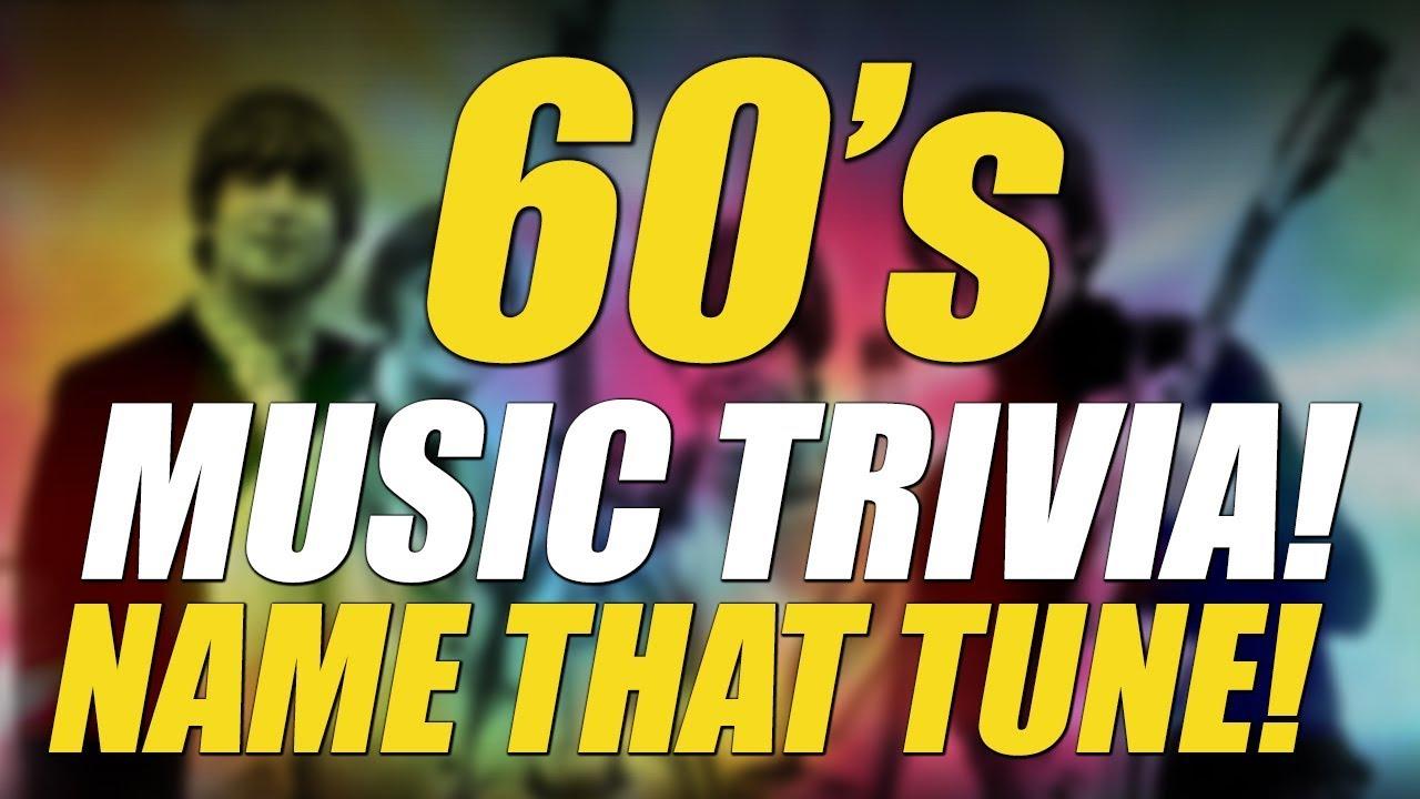 60 Music Trivia Name That Tune Youtube