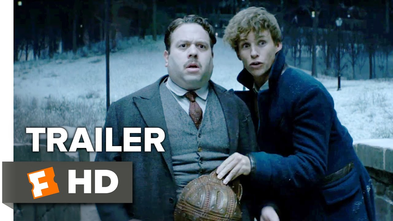 fantastic beasts and where to find them official comic con trailer