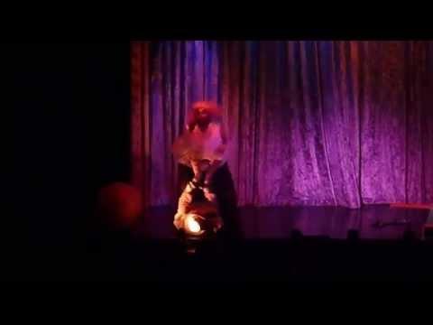 """Zombie Burlesque April 2015 """"teenie weenies"""" comedy act blue moon"""