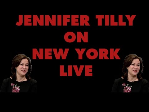 Jennifer Tilly on New York Live | Cult of Chucky Interview