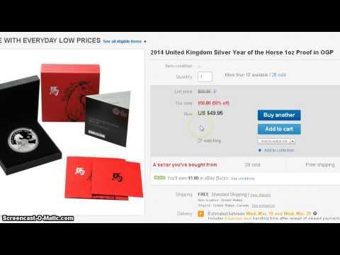 Deal Alert! 2014 Royal Mint Proof Lunar Horse $49.95, First Strike MS 70 Panda
