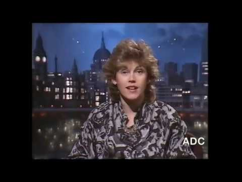 Thames , slides, adverts & Victoria Crawford in vision 2nd November 1987