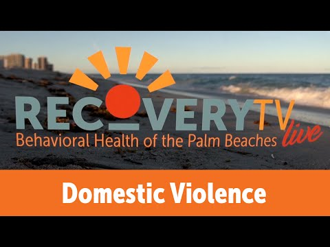 RecoveryTV Live - Domestic Violence and Alcohol Abuse