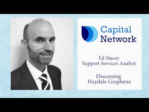 Capital Network's Ed Stacey on Haydale Graphene Industries