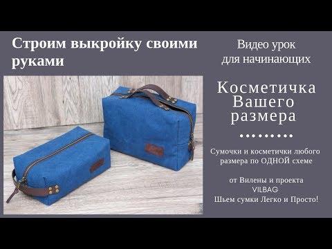 77bd22350e77 Выкройка косметички, сумки своими руками - Вилена Малая - imclips.net