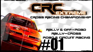 GAMEPLAY CROSS RACING CHAMPIONSHIP EXTREME PC GAMES MODO CARREIRA #01
