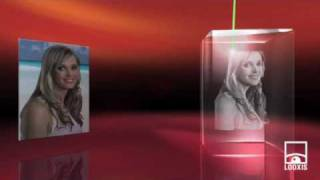 3D Photo Crystal from 2D Photo - How it works