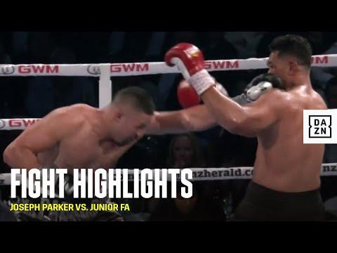 Джозеф Паркер – Джуниор Фа / Joseph Parker vs. Junior Fa