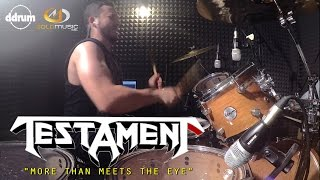 TESTAMENT | MORE THAN MEETS THE EYE - Drum Cover - Alessandro Cafagna