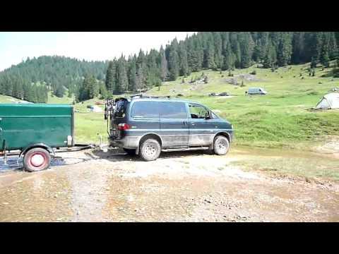 Starex Offroad Trailer in Romania Gsta Pfannstiel