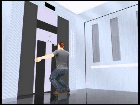 How Do People Fall in Lift Shaft (Animated...