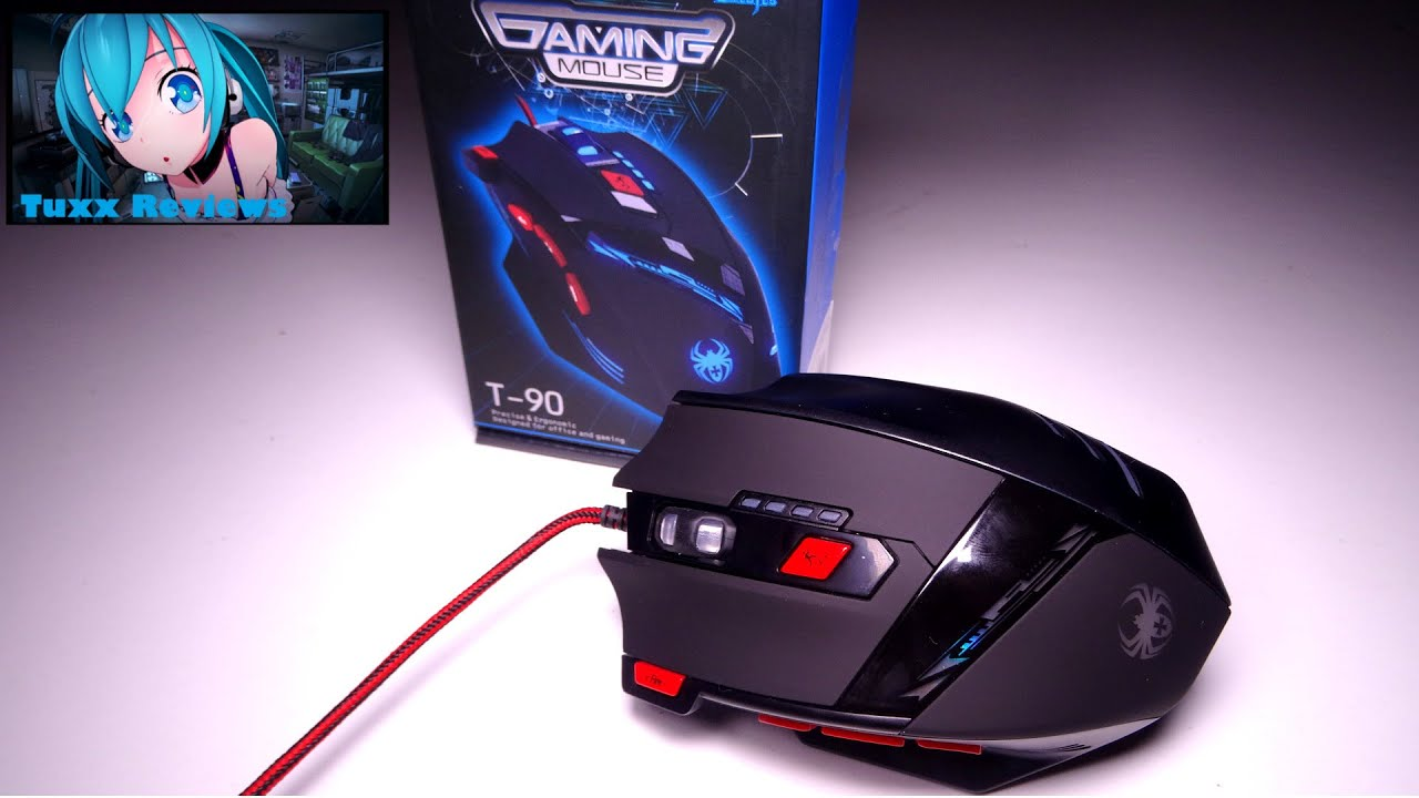 zelotes t90 usb gaming mice