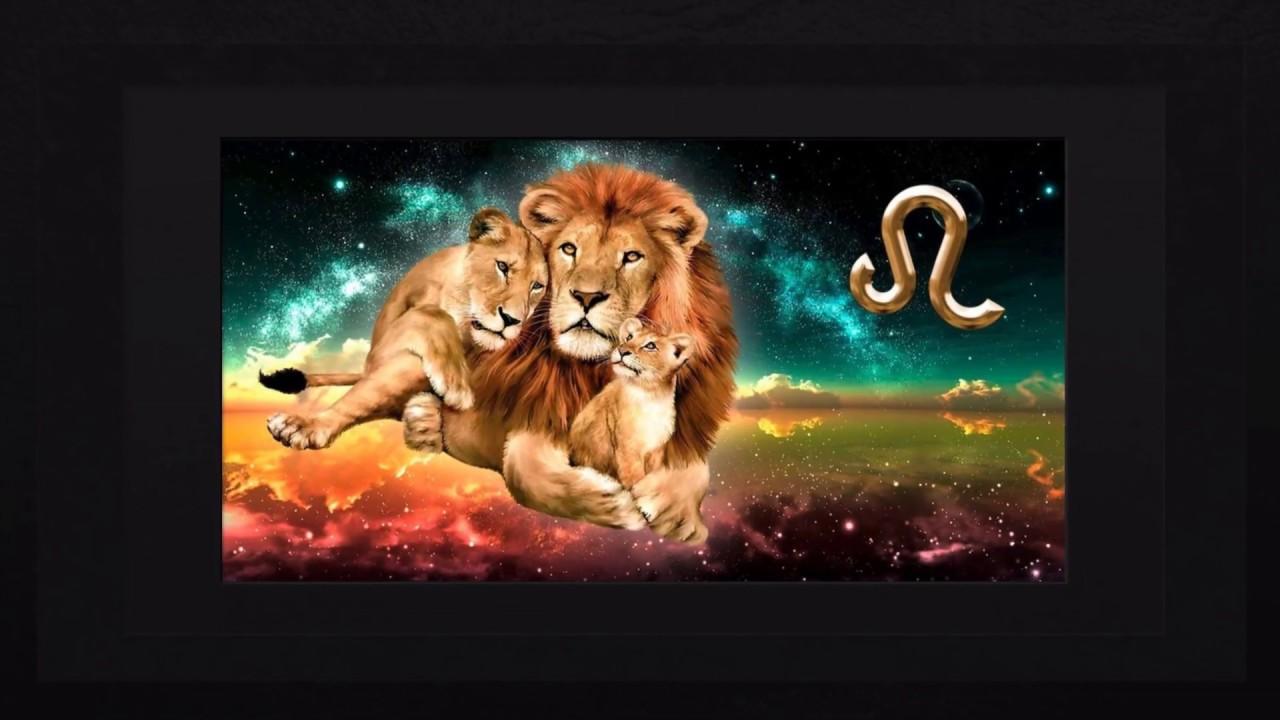 Открытки с днем рождения по гороскопу лев