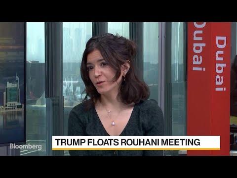 Trump Floats Rouhani Meeting