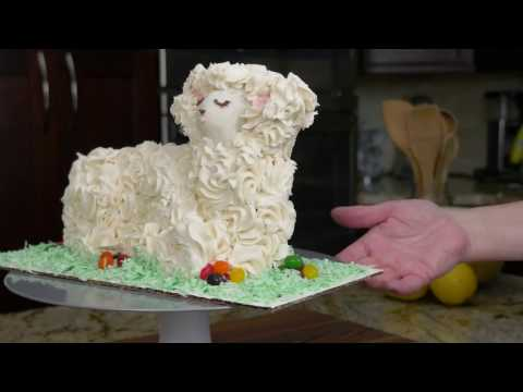 Now Find Gluten Free Easter Lamb Cake