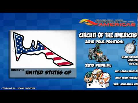 MiniDrivers - Formula 1 - Circuit Guide - United States GP