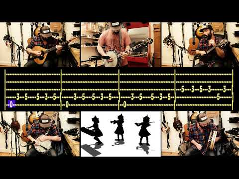 Guitar karaoke & tabs - Touhou - Bad Apple