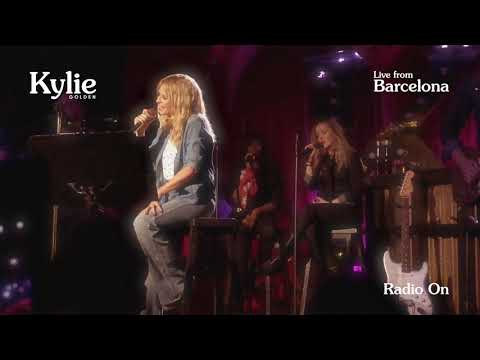 KYLIE MINOGUE - Golden Promo Tour live in Barcelona - RADIO ON