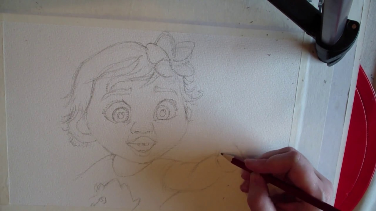 Comment Dessiner Vaiana How To Draw Moana Youtube
