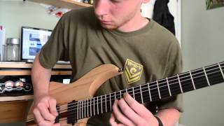 """title fight - """"head in the ceiling fan"""" - guitar cover"""