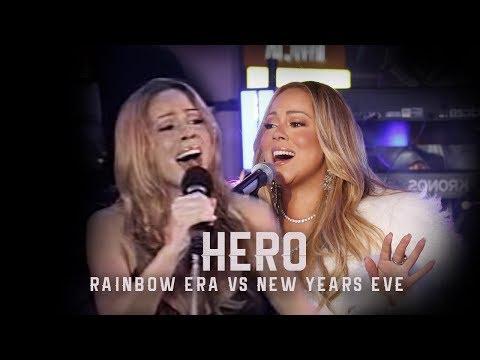 Mariah Carey: Hero Rainbow Era 1999 vs New Year's Eve 2018 Live ❤