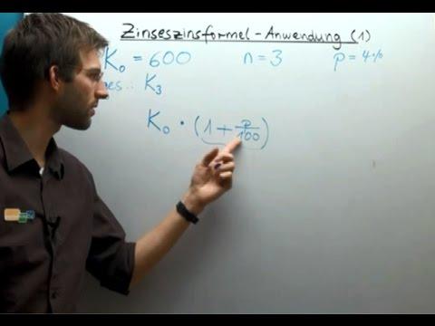 Zins Und Zinseszins Berechnen - Bankrechnung