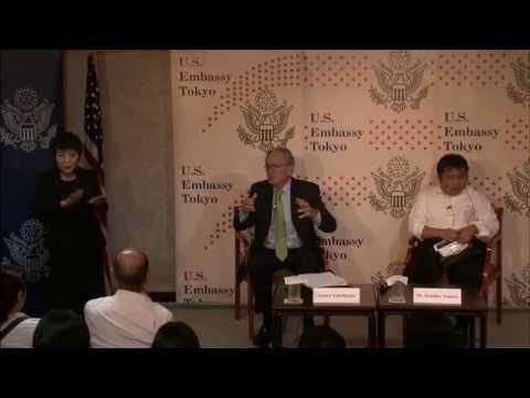 米国大使館主催 トム・ハーキン元上院議員講演会:障害のあるアメリカ人法 (ADA) 26周年:その功績とこれからの課題