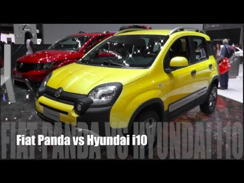 fiat panda или hyundai i10