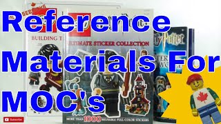 LEGO Building Reference Materials for MOCs
