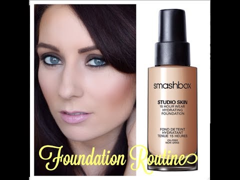Current Foundation Routine Smashbox Studio Skin