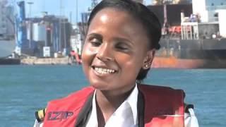 Mashujaa Day : Elizabeth Marami is the first female marine pilot in E. Africa
