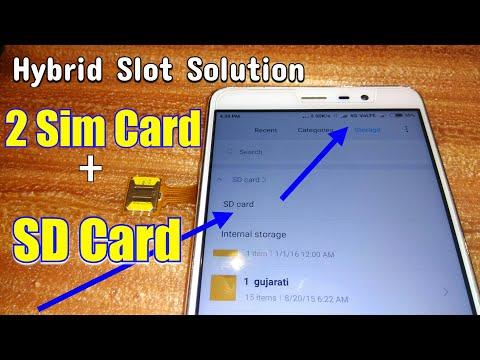 Keyone Limited Edition - Dual-Sim AND SD Card hack - anybody using