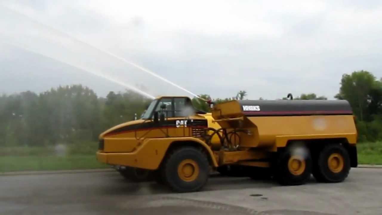 Cat  Water Truck Specs