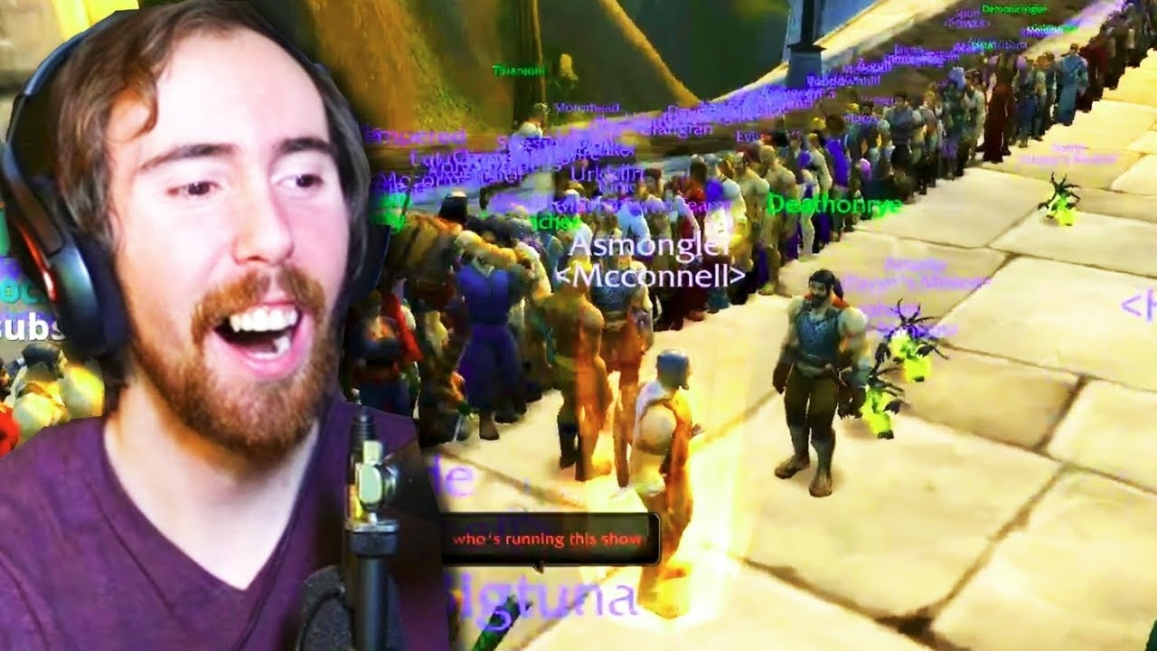 Asmongold Forms a HUGE Guild & HUNTS McConnell (Classic ...