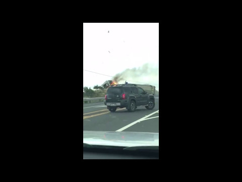 Crash at Daniel K  Inouye and Mamalahoa highways 5 9 17