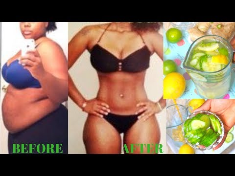 NO DIET, NO EXERCISE ! LOSE WEIGHT FAST WITH LEMON, GINGER, CUCUMBER WEIGHT LOSS DRINK