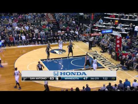 Kyle Anderson Full Game Highlight VS Minnesota Timberwolves (10Points,5Rebounds,3Assists)