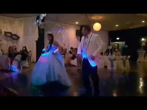 Father-Daughter Dance Quinceañero (Shaky Shaky & Psy)
