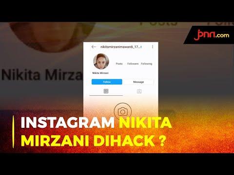 Akun IG Nikita Mirzani Diretas, Siapa Pelakunya?