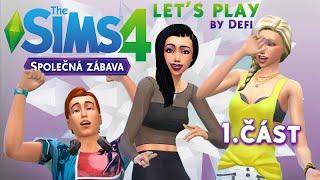 Let's Play - The Sims 4: Společná zábava (část 1.) - WindenBurger?!