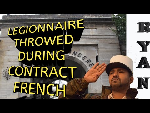 Legionnaire Throwed out in Contract    Advise French foreign Legion international advertiser