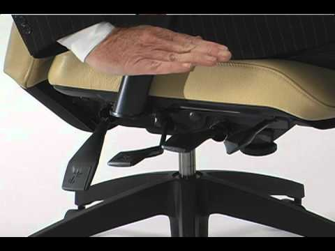 Global Chair   Seat Angle Adjustment