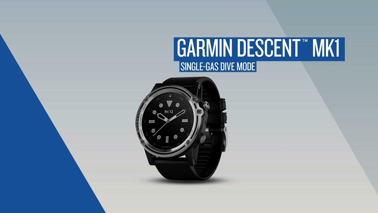 Garmin Descent: Single-gas Dive Mode - Dauer: 2 Minuten, 59 Sekunden