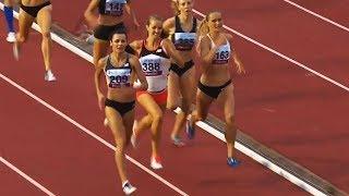 Women's 800m at Gothenburg GP 2018