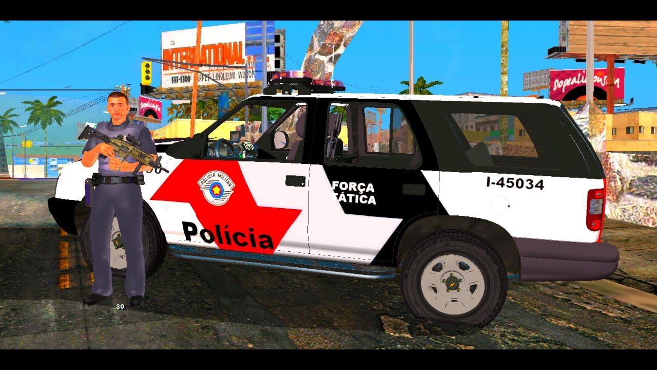 LIVE: PATRULHAMENTO DE POLÍCIA GTA | ANDROID